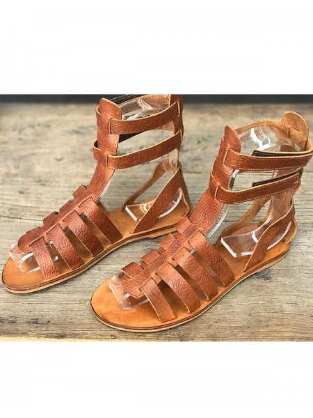 Ares Leather sandals by Marlin Factory