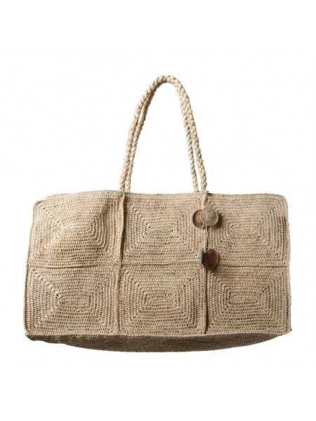 Gabby Bag Natural by Made in Mada