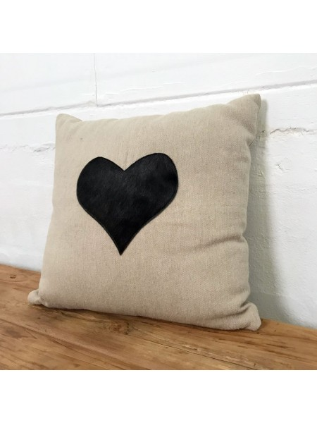 CUSHION HEART BY ANGEL DES MONTAGNES