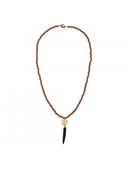 Heritage Ethiopian copper spear necklace by Mulberry Mongoose