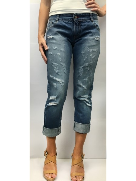 Boyfriend Jeans by Inkolives Jeans