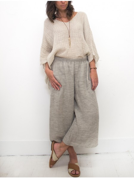 Guaglione pants by La Bottega di Brunella