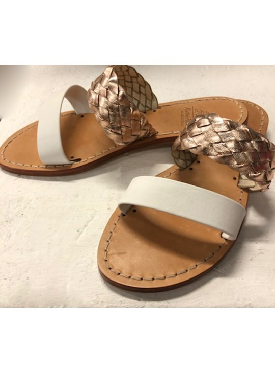 A01 Mastro Sandals Positano - Hand made sandals  size Euro 38 all leather
