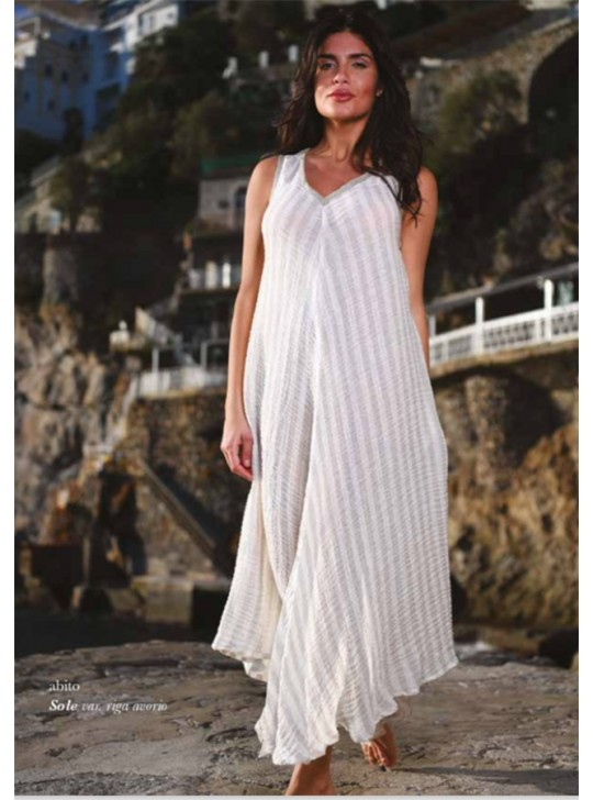 Abito Sole maxi dress Mastro Moda O/size