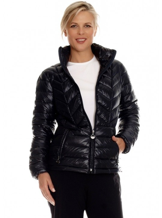 Short Ultra Lite Quilted Jacket By Paula Ryan