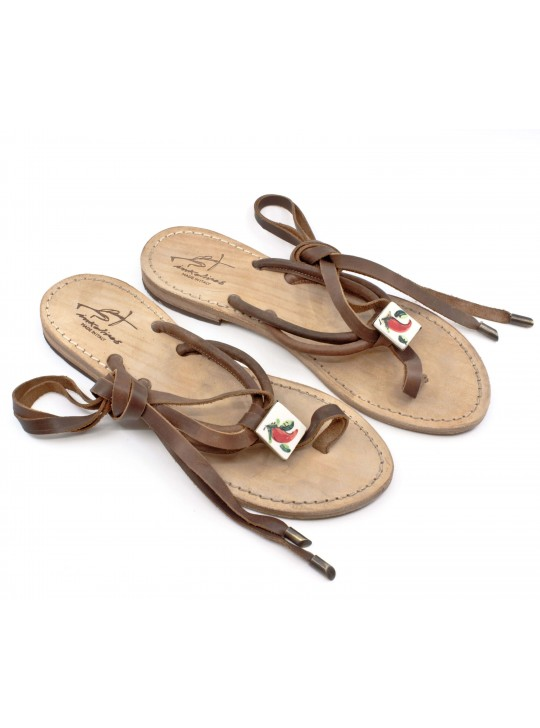 Cornetto Leather Sandals
