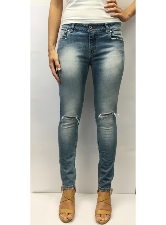 Cut Knee Jeans by Inkolives Jeans