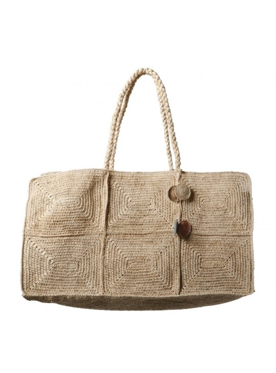 Gabby Bag Natural Made in Mada