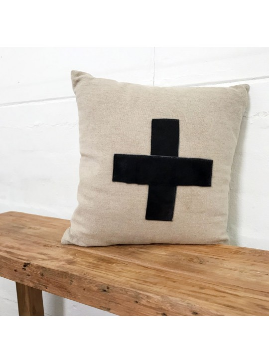 CROSS CUSHION BY ANGEL DES MONTAGNES