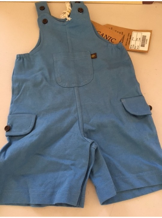 BABIES - Boy Playsuit - blue