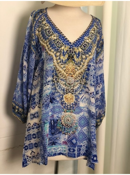 FSS 272 Fashion Spectrum Munghal Gypsy top