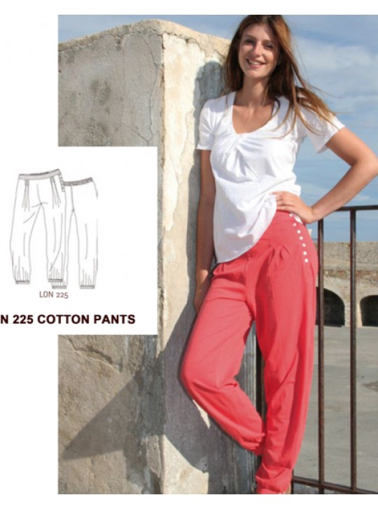 La Naturelle Cotton Cargo Pants.  LON 225
