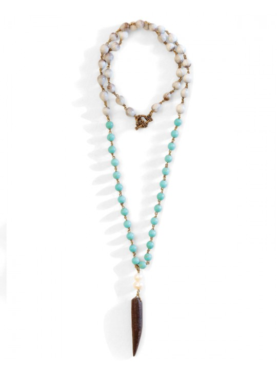 Blackhorn Turquoise necklace by Mulberry Mongoose