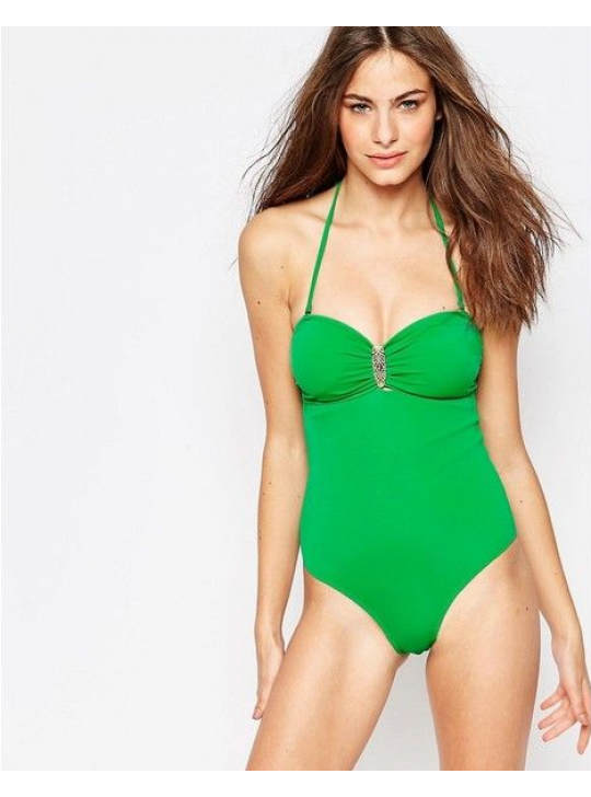 Phax Green one piece swimsuit