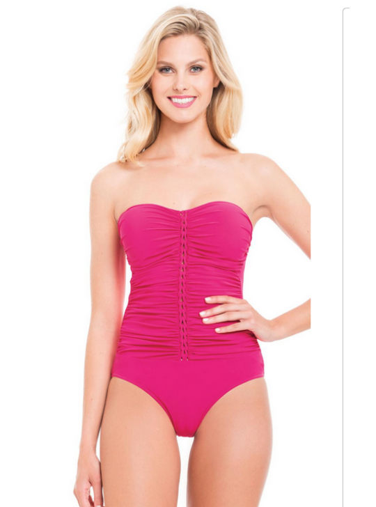 Gottex Profle, Waterfall collection Pink swimsuit US 8, AUST 10, UK 10