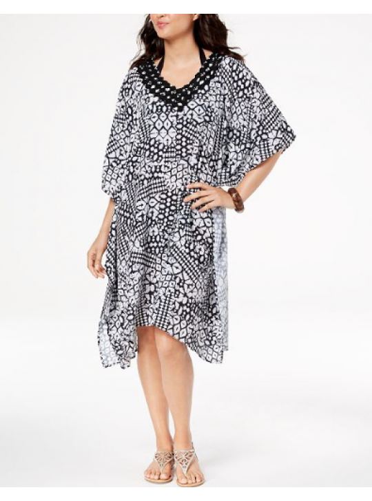 Profile Gottex Tribal Printed Caftan Cover up