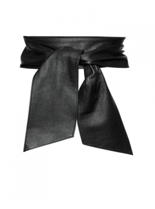 Paula Ryan Solf Leather Wrap Belt