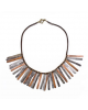 GLADIATOR SNARE NECKLACE BY MULBERRY MONGOOSE